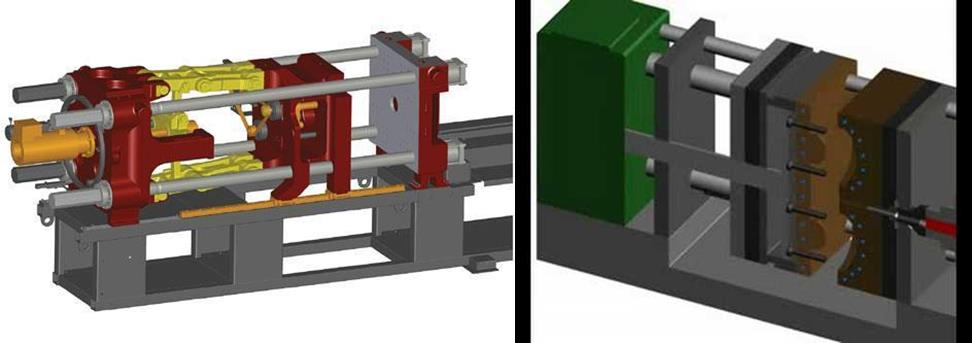Injection mold clamping - what is injection molding