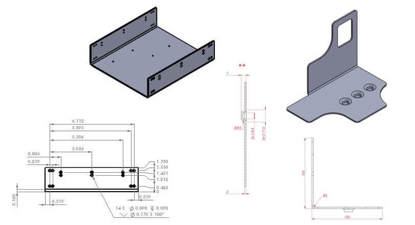 Sheet metal drawing - What is Sheet Metal and Sheet Metal Process?